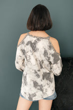 Load image into Gallery viewer, First Of The Season Tie Dye Top in Grey
