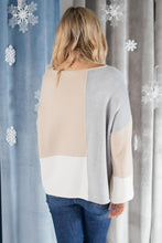 Load image into Gallery viewer, Happened Upon Patterns Sweater in Taupe