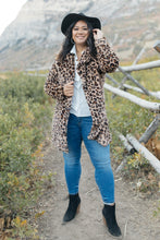 Load image into Gallery viewer, Lindsay Leopard Coat