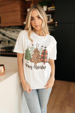 Load image into Gallery viewer, Merry Christmas Graphic Tee
