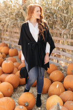 Load image into Gallery viewer, Perfect Poncho Cardigan in Black