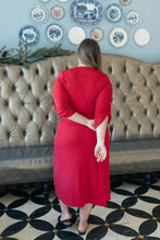 Load image into Gallery viewer, Reckless Abandon Dress In Red