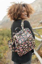 Load image into Gallery viewer, Rockin' Rose Backpack
