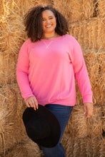 Load image into Gallery viewer, Sadie's Simple Sweater in Pink