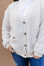 Load image into Gallery viewer, Sure Do Love Sherpa Cardigan