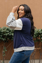 Load image into Gallery viewer, The Bridget Block Top in Navy