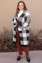 Load image into Gallery viewer, The Checkmate Cardigan