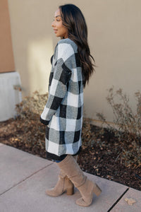 The Checkmate Cardigan