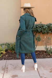 The Paislynn Trench Coat