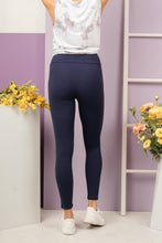 Load image into Gallery viewer, Soft As Butter Moto Leggings in Navy