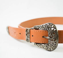 Load image into Gallery viewer, Dual Buckle Western Belt
