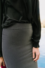 Load image into Gallery viewer, Tiny Dots Pencil Skirt