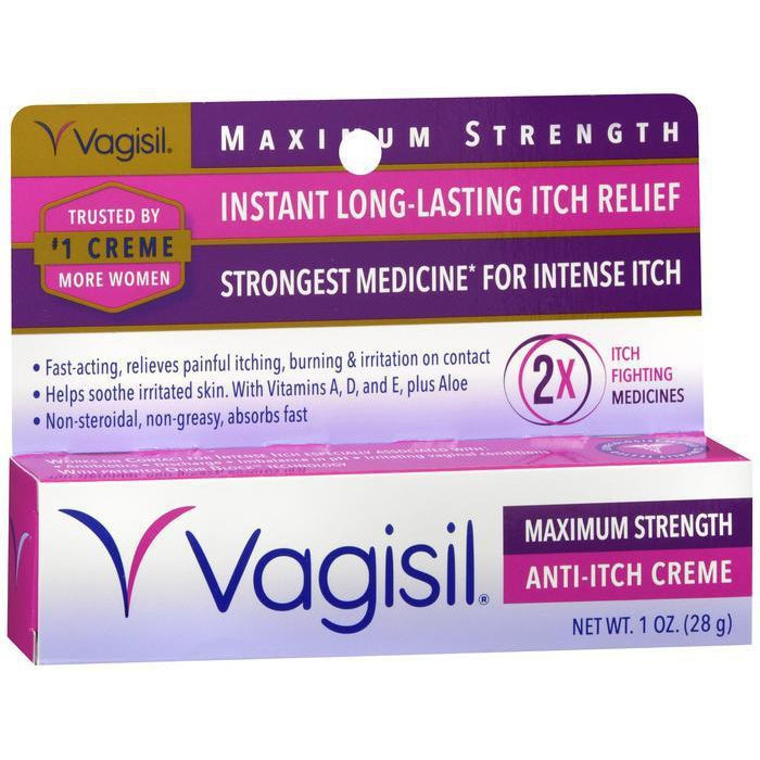 Vagisil Maximum Strength Anti-Itch Creme, 1 oz