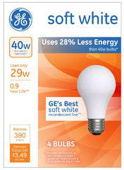 Soft White 40w Bulbs