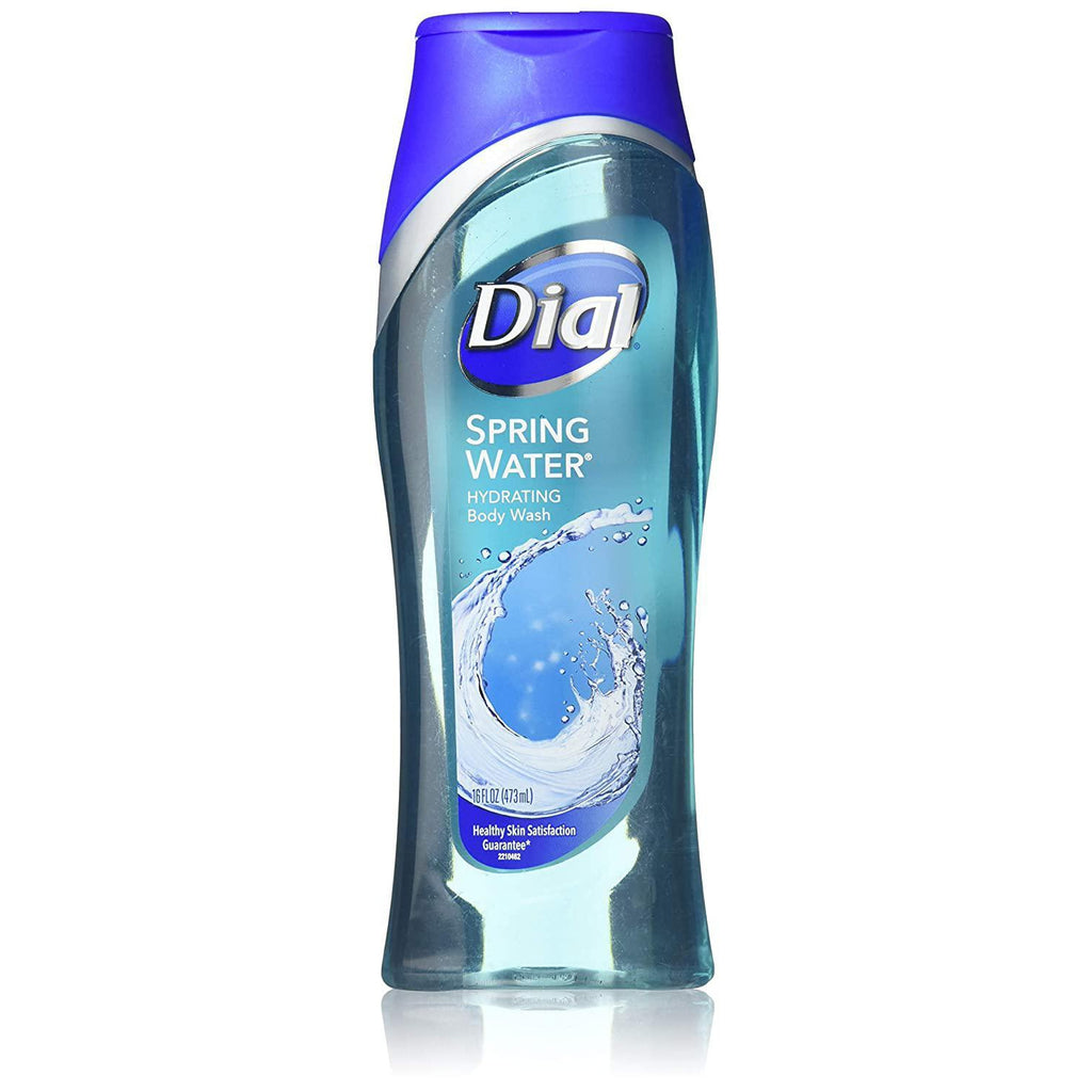 Dial Body Wash, Spring Water, 16 Fl oz