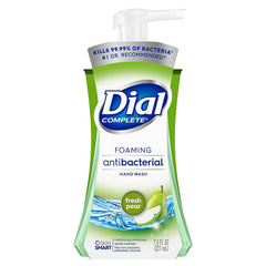 Dial Complete Antibacterial Foaming Hand Wash, Fresh Pear, 7.5 Fl oz