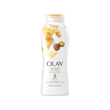 Olay Ultra Moist Shea Body Wash 12.3 Oz