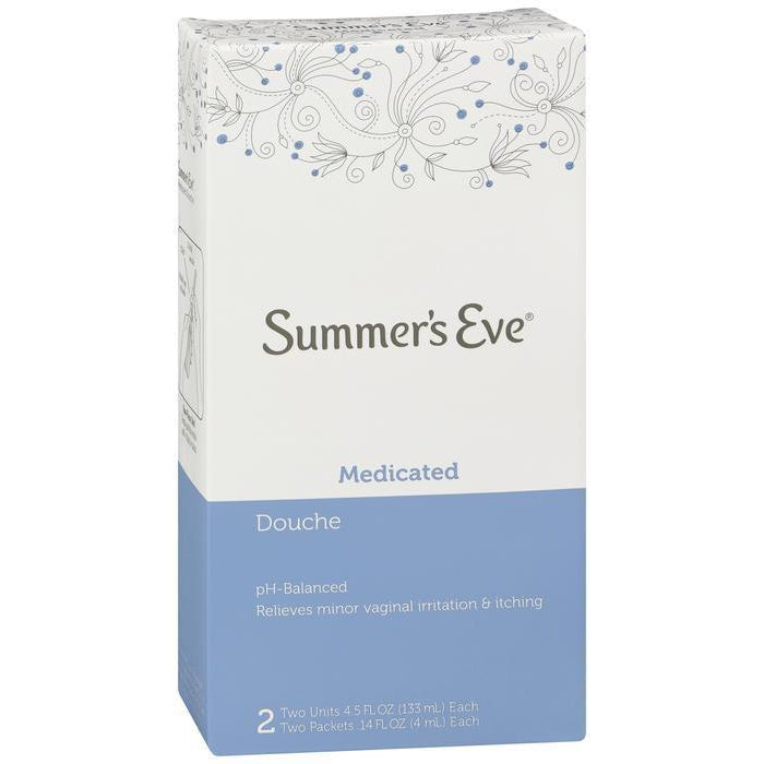 Summer's Eve Douche Medicated 2 ea