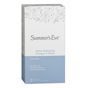 Summers Eve Douche Extra Cleansing Vinegar & Water 2 CT