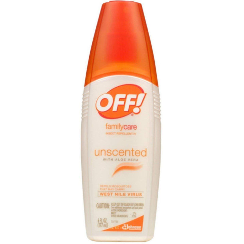 OFF! FamilyCare Insect Repellent, Unscented, 6 oz