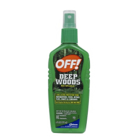 Off Spray Pump, Deep Woods, Unscented, 6 Oz