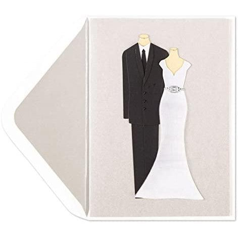 PAPYRUS Handmade Bride And Groom Card