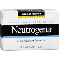 NEUTROGENA Original Formula Facial Bar, Fragrance Free 3.5 oz