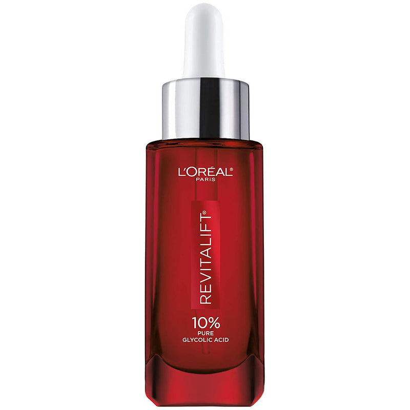 L'Oreal Paris Revitalift Derm Intensives 10% Pure Glycolic Acid Serum, 1 oz.