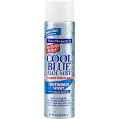 Fruit of the Earth Cool Blue Aloe Mist Continuous Spray, 6 oz