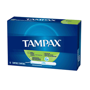 Tampax Flushable Super 10 Ct