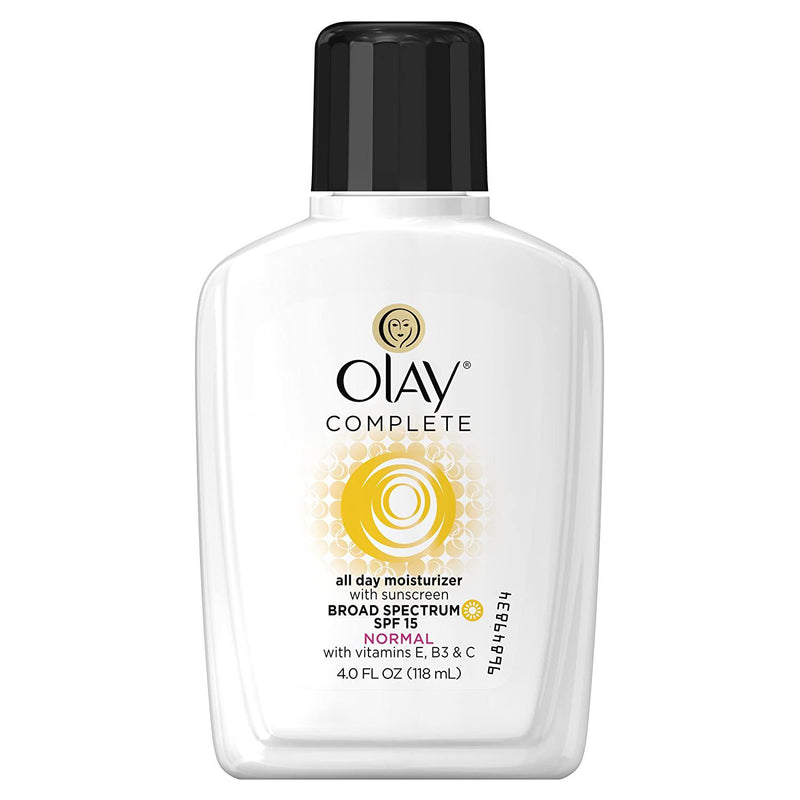 Olay Complete Daily Moisturizer for Normal Skin, SPF 15, 4 Fl oz