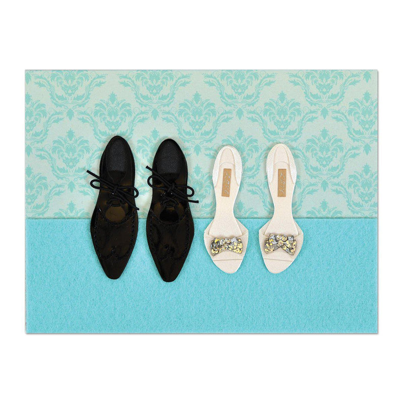 PAPYRUS Wedding - Bride and groom shoes