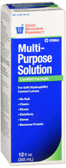GNP Multipurpose Contact Solution, 12 Oz