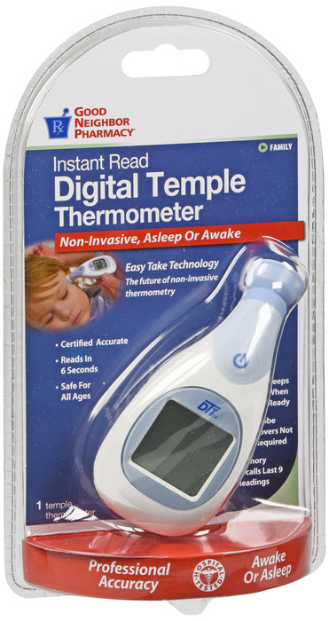 GNP Instant Read Digital Temple Thermometer, 1 Thermometer