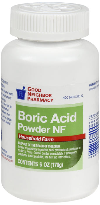 GNP Boric Acid Powder, 6 Oz