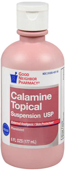 GNP Calamine Topical Suspension, 6 Oz