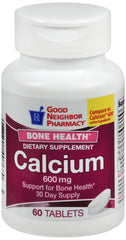 GNP Calcium 600mg, 60 Tablets