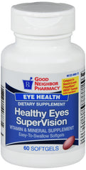 GNP Healthy Eyes Supervision Softgel 60 CT
