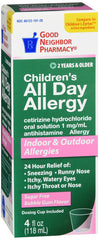 GNP All Day Allergy 5mg, 4 Fl Oz