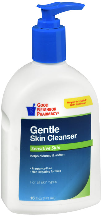 GNP Gentle Skin Cleanser Sensitive Skin, 16 Fl Oz