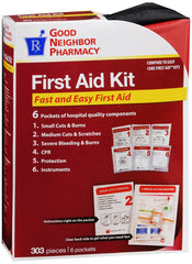 GNP First Aid Kit, 303 Pieces
