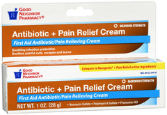 GNP Antibiotic + Pain Relief Cream, 1 Oz