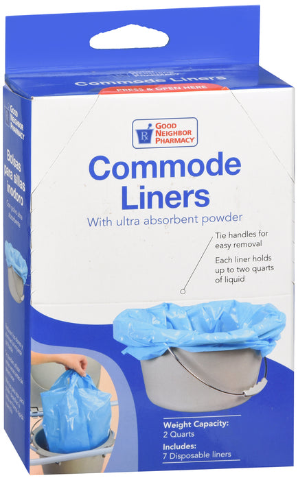 GNP Commode Liners, 7 Disposable Liners