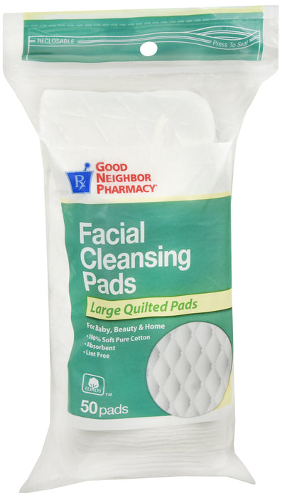 GNP Facial Cleansing Pad 50 CT