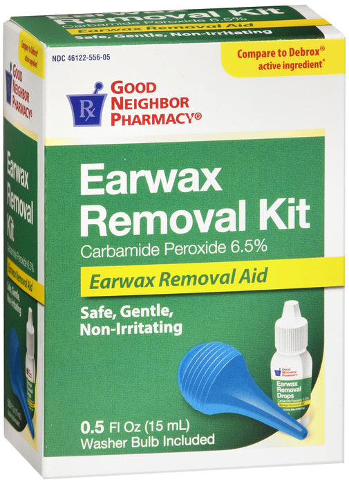 GNP Earwax Removal Kit Drop with Bulb 0.5 Fl oz (15 ml)