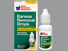 GNP Earwax Removal Drops  0.5 Fl oz (15 ml)