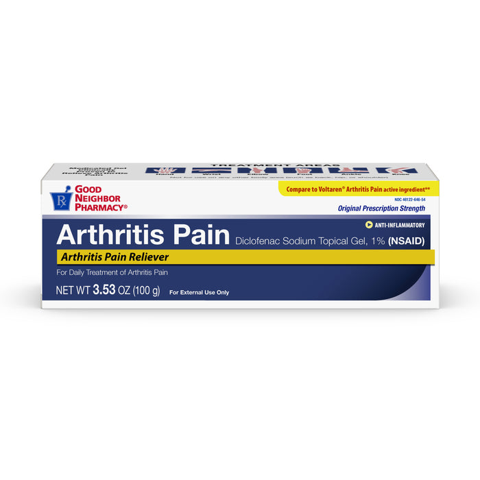 GNP Arthritis Pain Relieving Gel, 100 Grams