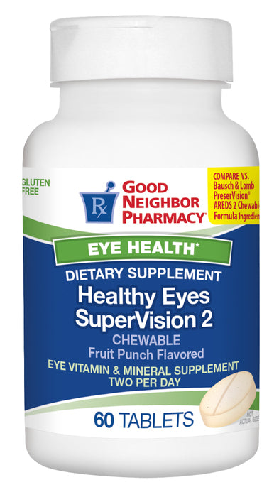 GNP Healthy Eyes Supervision 2 Chewable 60 CT