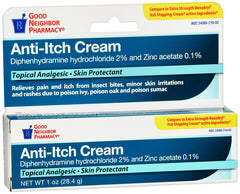 GNP Anti-Itch Cream, 1 Oz