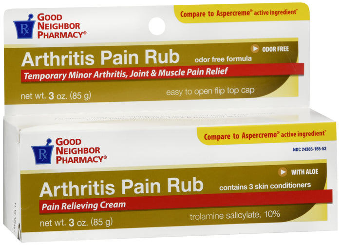 GNP Arthritis Pain Rub Cream, 3 Oz